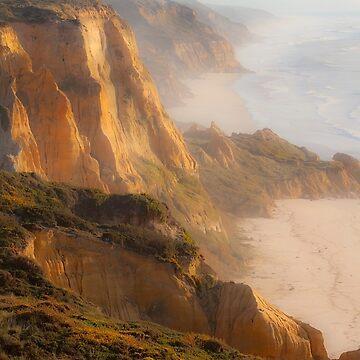 Cliffs. Vale Furado. Nazaré. by terezadelpilar