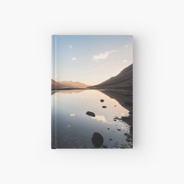 Sunset At Loch Etive Hardcover Journal