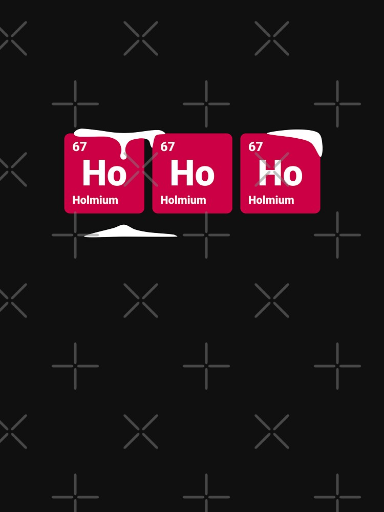 HoHoHo! Periodic Table Elements by science-gifts