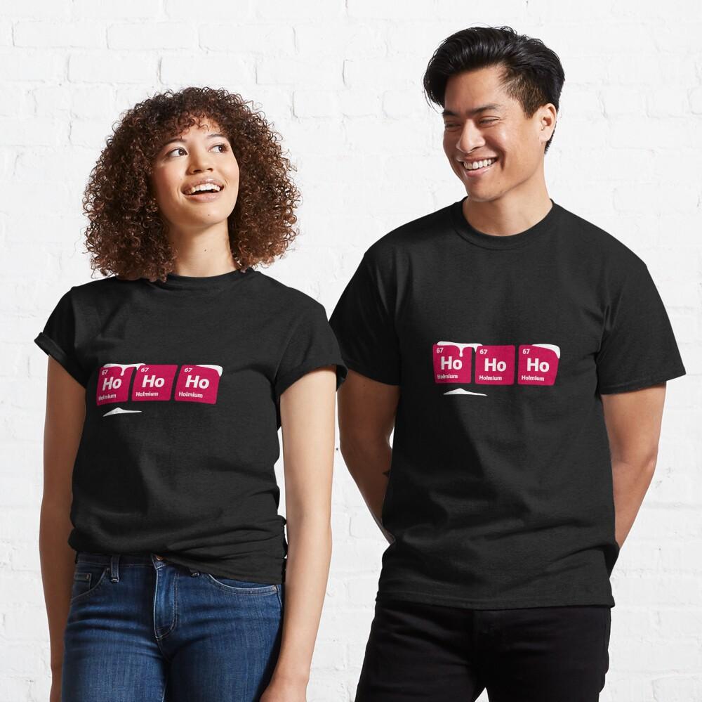 HoHoHo! Periodic Table Elements Classic T-Shirt