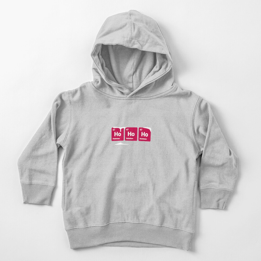 HoHoHo! Periodic Table Elements Toddler Pullover Hoodie