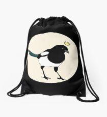 King Magpie Drawstring Bag