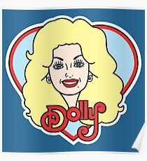 Darlin Dolly - Red Poster