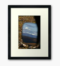 Mirror, Mirror, On The SUV ..... Framed Print
