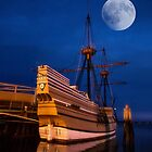 Moon Over the Mayflower by Kathy Weaver