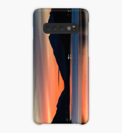 Sunset Over Loch Leven Case/Skin for Samsung Galaxy