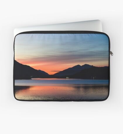 Sunset Over Loch Leven Laptop Sleeve