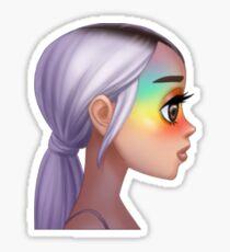 arimoji no tears left to cry Sticker