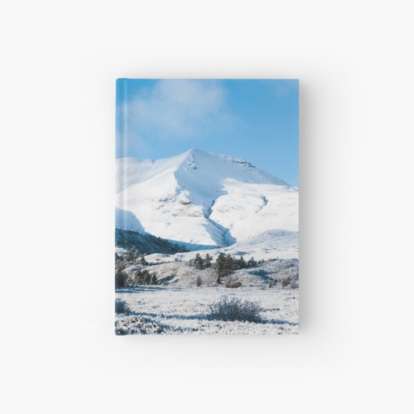 Beinn Eighe in the Snow Hardcover Journal