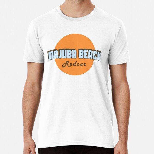 Majuba Beach Redcar Premium T-Shirt