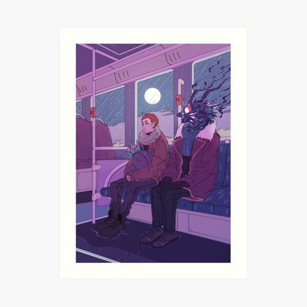 Last bus home Art Print