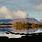 Clouds Over Ardgour by Mark Greenwood