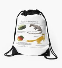 Fruits and Mongooses Mochila de cuerdas