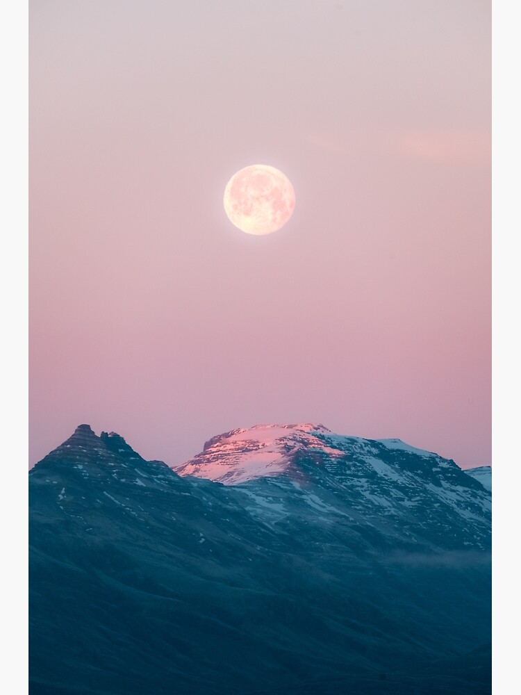 Moon and the Mountains – Landscape Photography  by regnumsaturni
