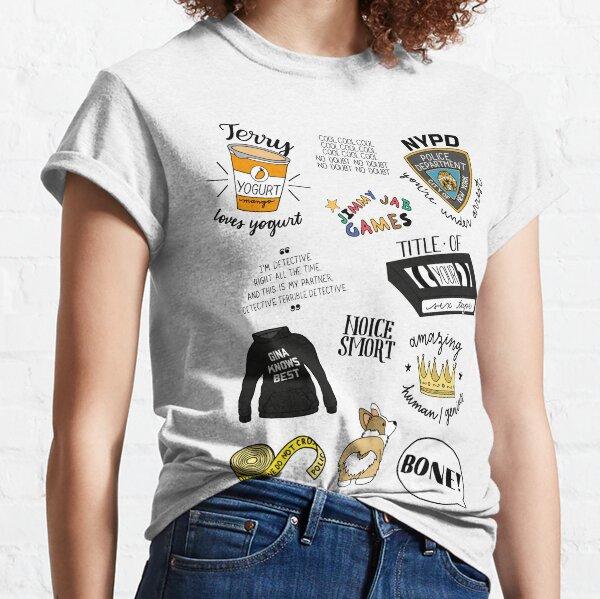 Brooklyn Nine Nine TV Show Art T-shirt classique