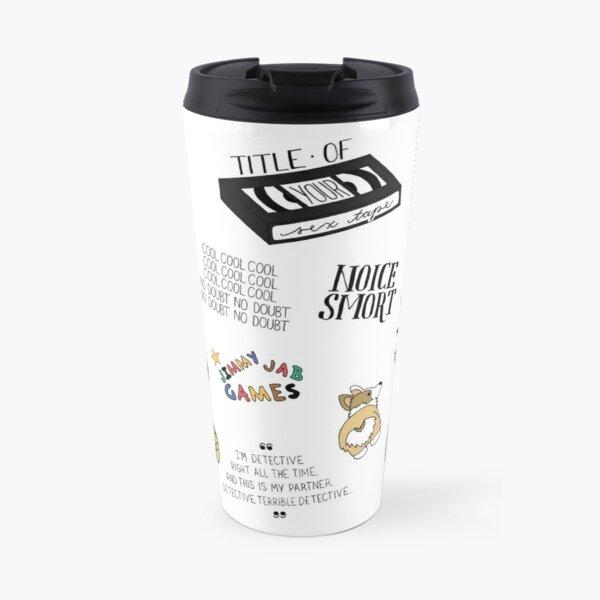 Brooklyn Nine Nine TV Show Art Travel Mug