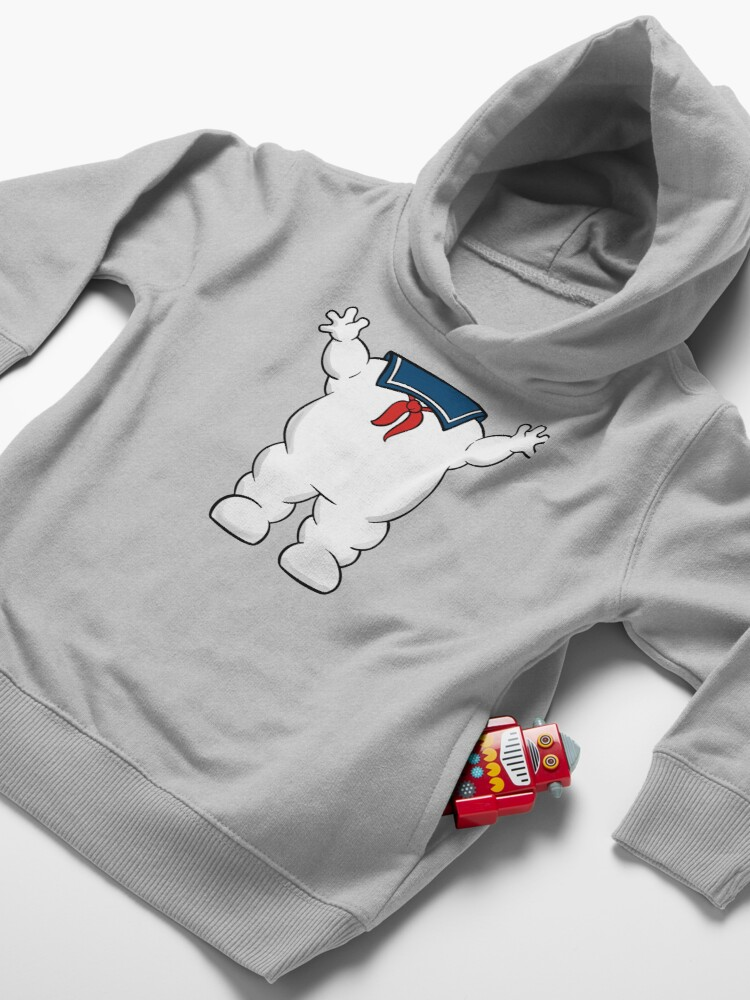 Alternate view of Stay Puft Marshmallow Man Body Toddler Pullover Hoodie