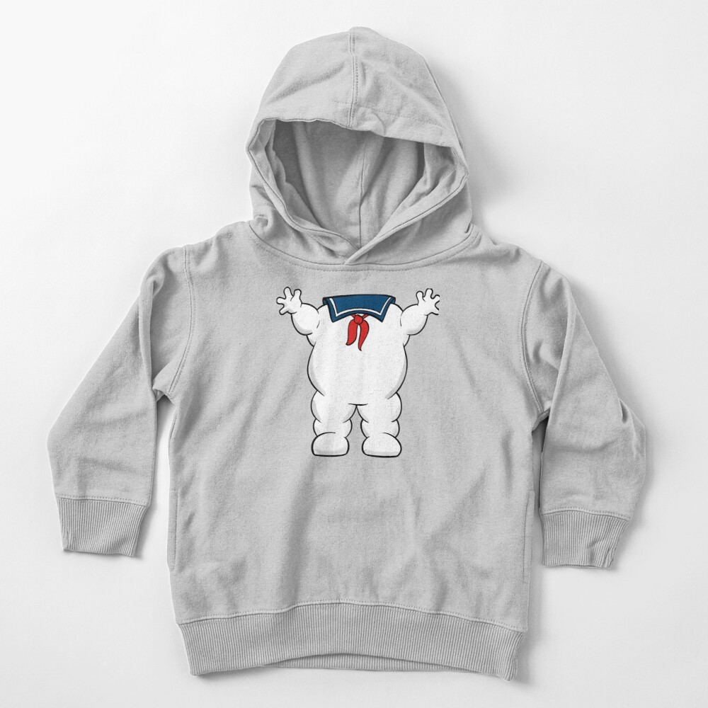 Stay Puft Marshmallow Man Body Toddler Pullover Hoodie