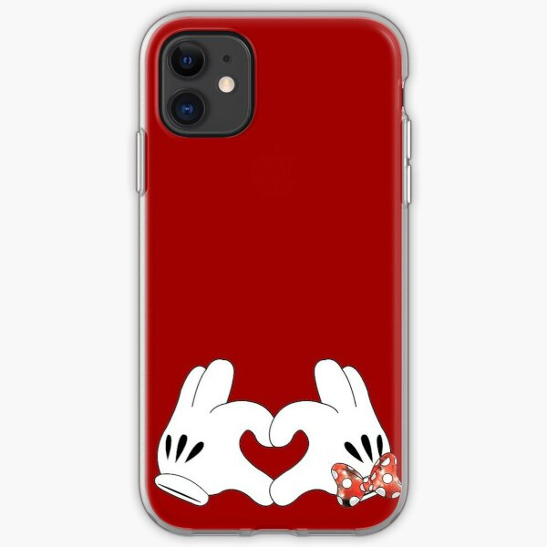 Minnie and Mickey Love iPhone Soft Case