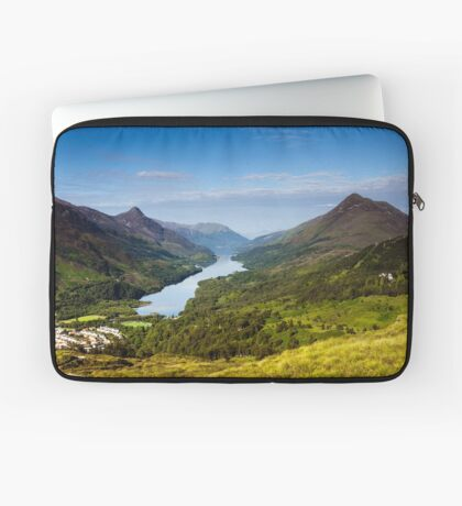 Kinlochleven and The Pap Of Glencoe Laptop Sleeve