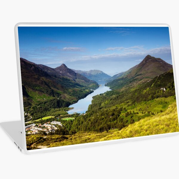 Kinlochleven and The Pap Of Glencoe Laptop Skin