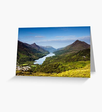 Kinlochleven and The Pap Of Glencoe Greeting Card