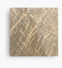 Sand Metalldruck