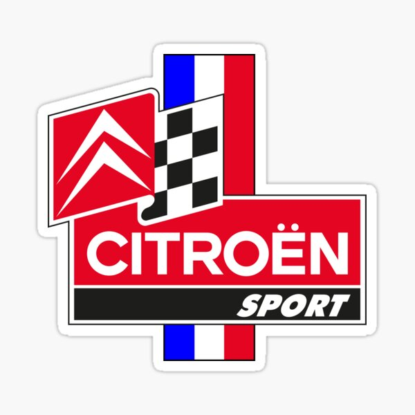 Citroen Sport V2 Sticker