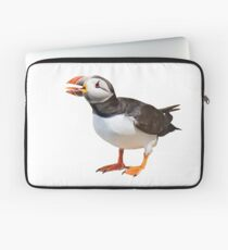 Puffin with big tongue Laptop Sleeve