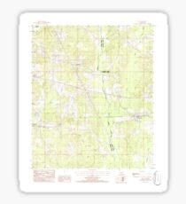 USGS TOPO Map Louisiana LA Ada 331241 1986 24000 Sticker