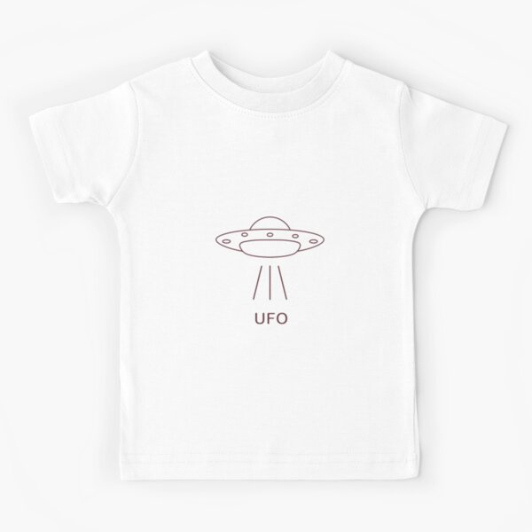 I Need My Space Flying Saucers UFO Planets Kids Boys Girls T-Shirt