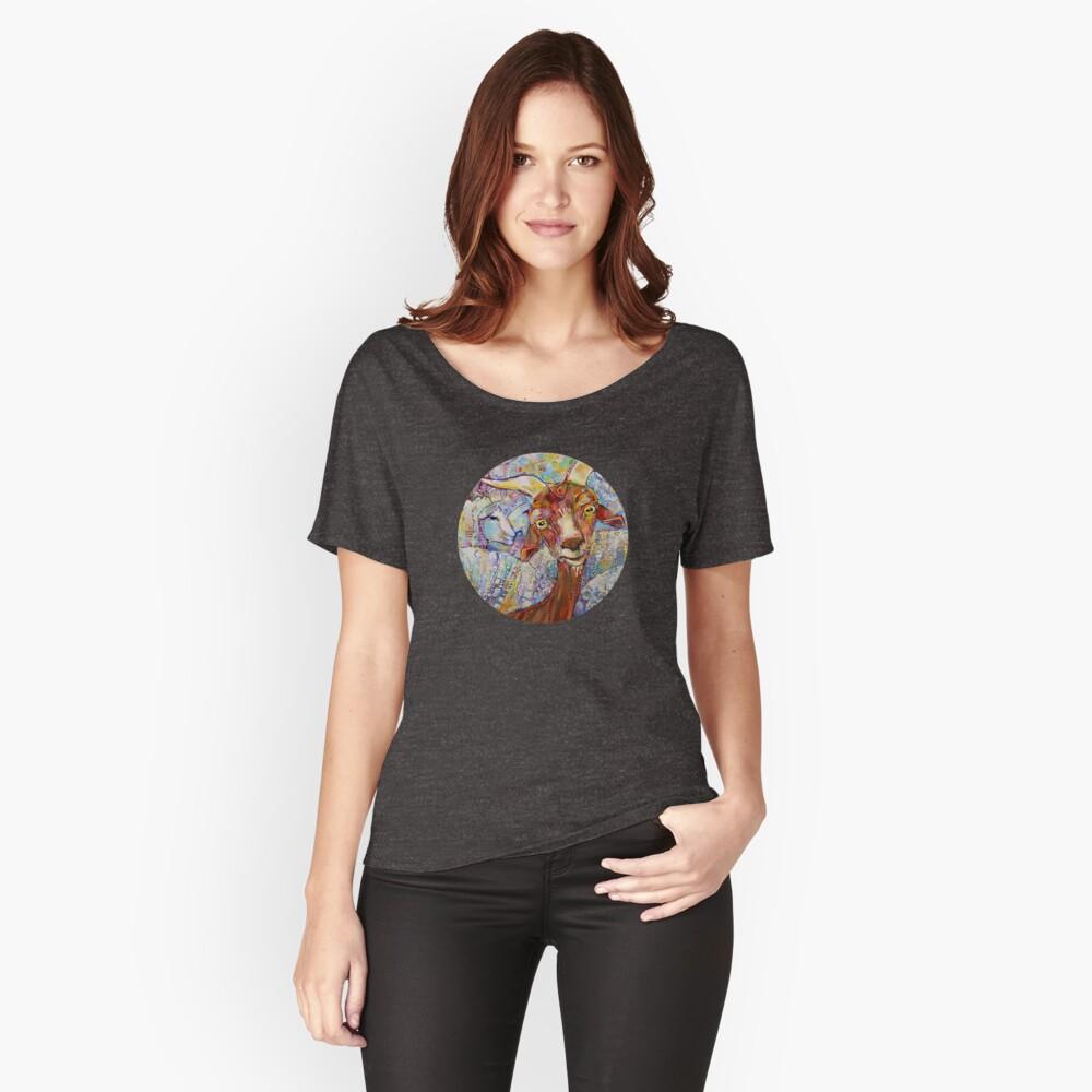 Ziegen- / Schafmalerei - 2014 Loose Fit T-Shirt