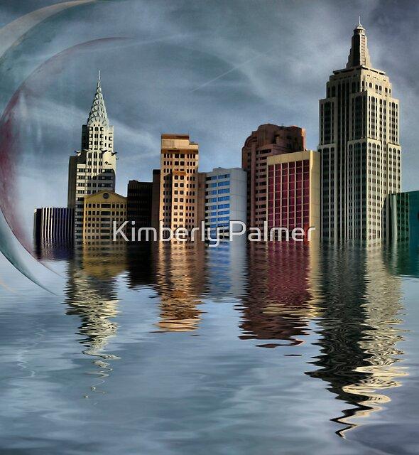 Skyline of Vegas by Kimberly Palmer