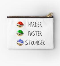 Harder, faster, stronger shells! Studio Pouch