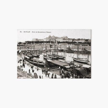 Port de Royan, années 1900 (2) Impression rigide