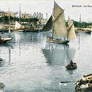 « Port de Royan, années 1900 (3) » par Francois Richet