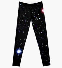 Pixel Galaxy Leggings