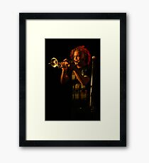 The perfect pitch Framed Print