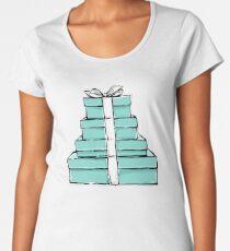 gift boxes  Women's Premium T-Shirt