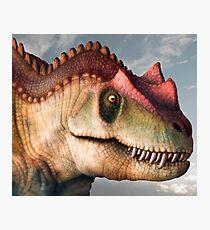 Ceratosaurus Dinosaur Head Study Photographic Print