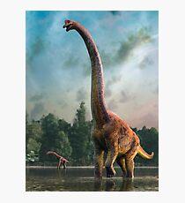 Artwork of Giraffatitan / Brachiosaurus Photographic Print