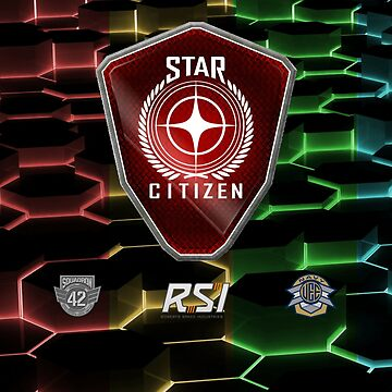Star Citizen Color Grid by FlashFireTees