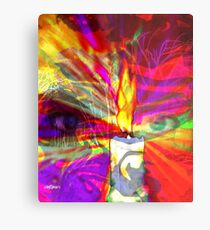 Sorcerer's Candle Metal Print