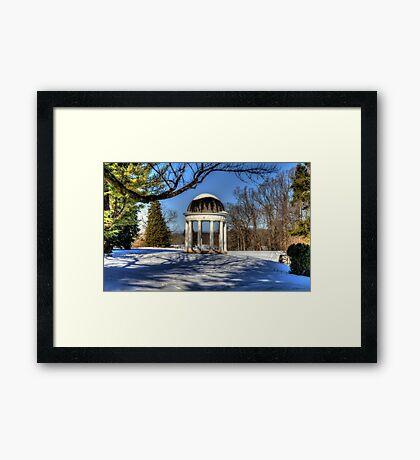 The Rotunda at Montpelier Framed Print