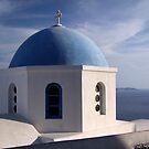 A Church in Oia by Lolabud