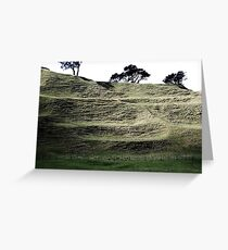 One Tree Hill Side Greeting Card