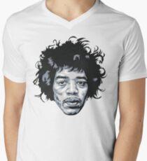 Camiseta para hombre de cuello en v Hendrix