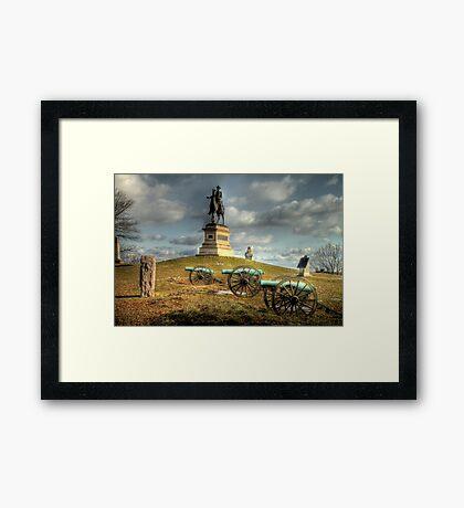 The Battlefield at Gettysburg Framed Print