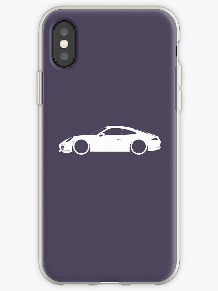 '7th Gen Porsche Neunelfer' iPhone Case by carsaddiction