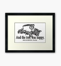 The Giving Tree by Shel Silverstein  Framed Print